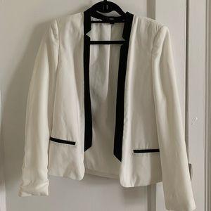 White & Black Blazer